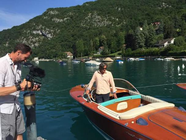 VIDEO | Escale chic de TF1 au lac d'Annecy