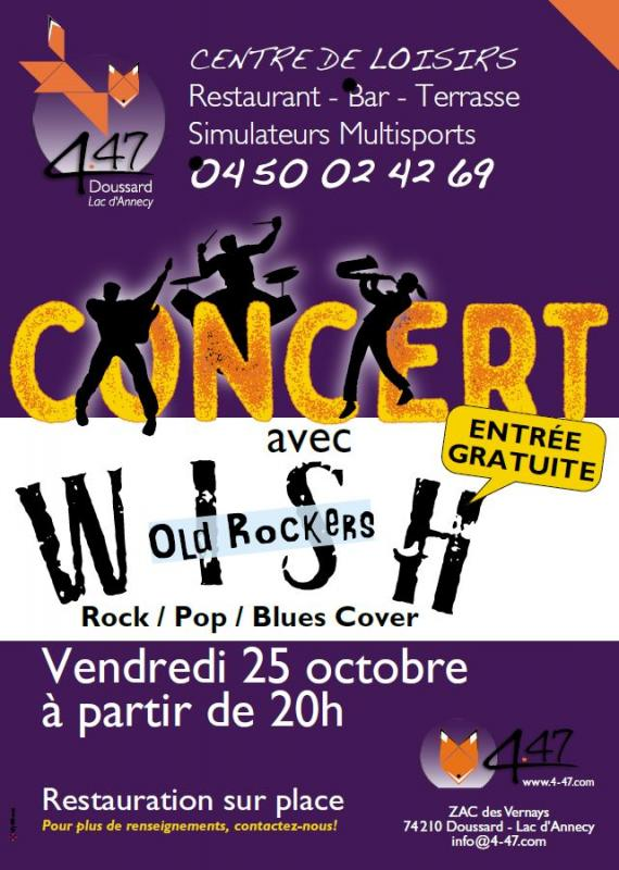 DOUSSARD | Concert Rock Pop Blues au 4-47
